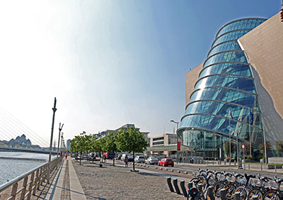 CCD Exterior Daytime with Dublin Bikes