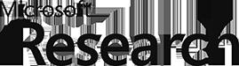 Microsoft Reserach logo